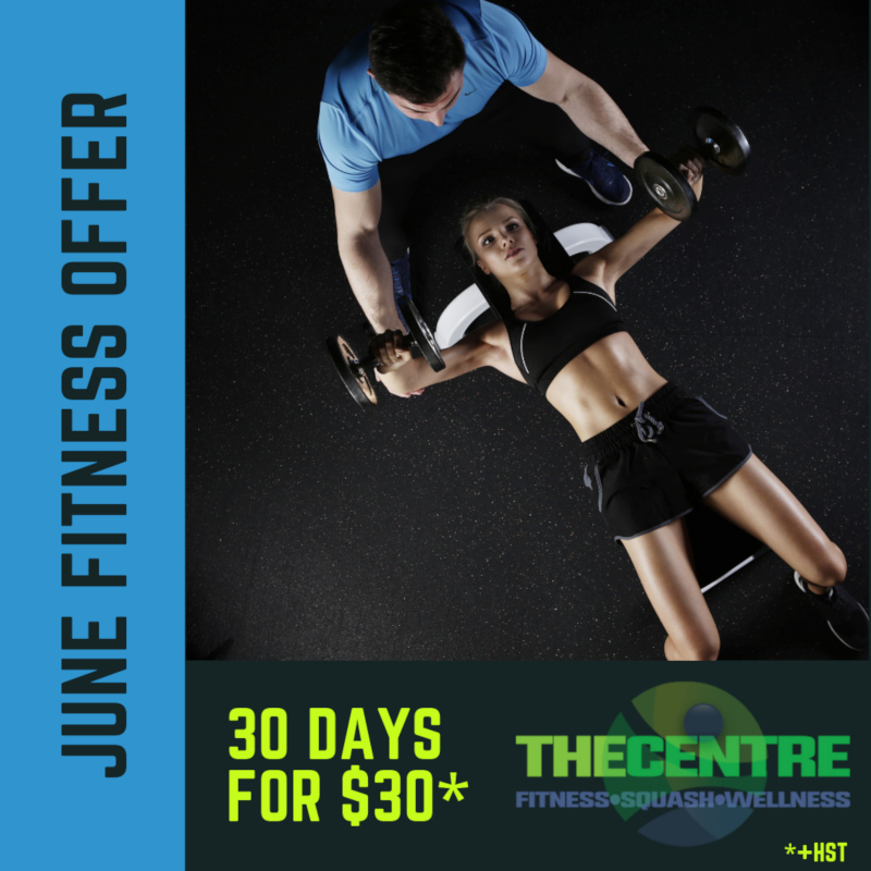 June fitness offer at The Centre