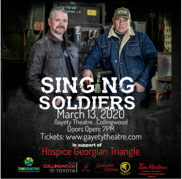 The Centre Proudly Sponsors The Singing Soldiers