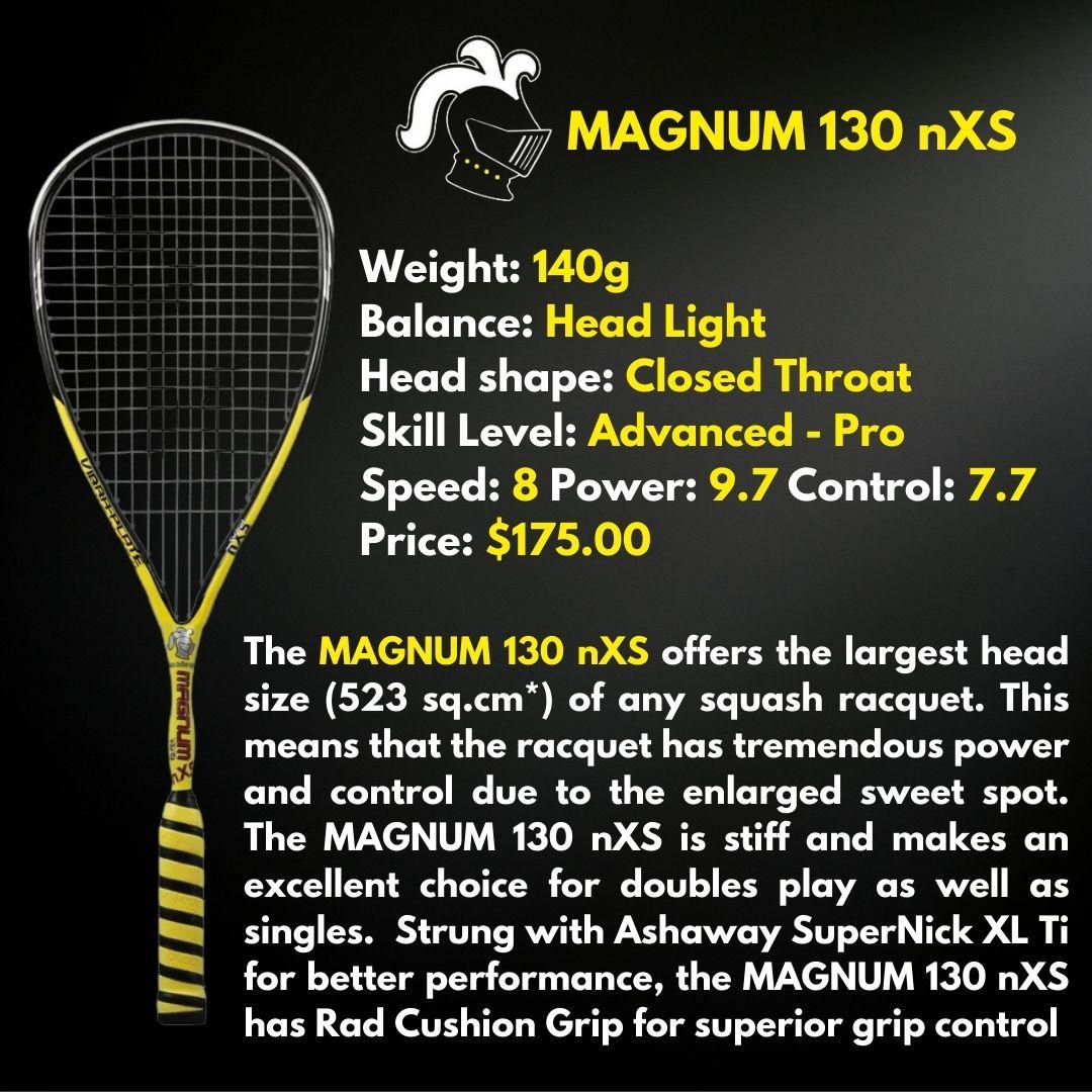 Black Knight Magnum nXS Squash Racquet
