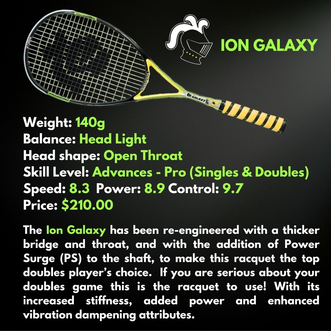 Black Knight Ion Galaxy Squash Racquet