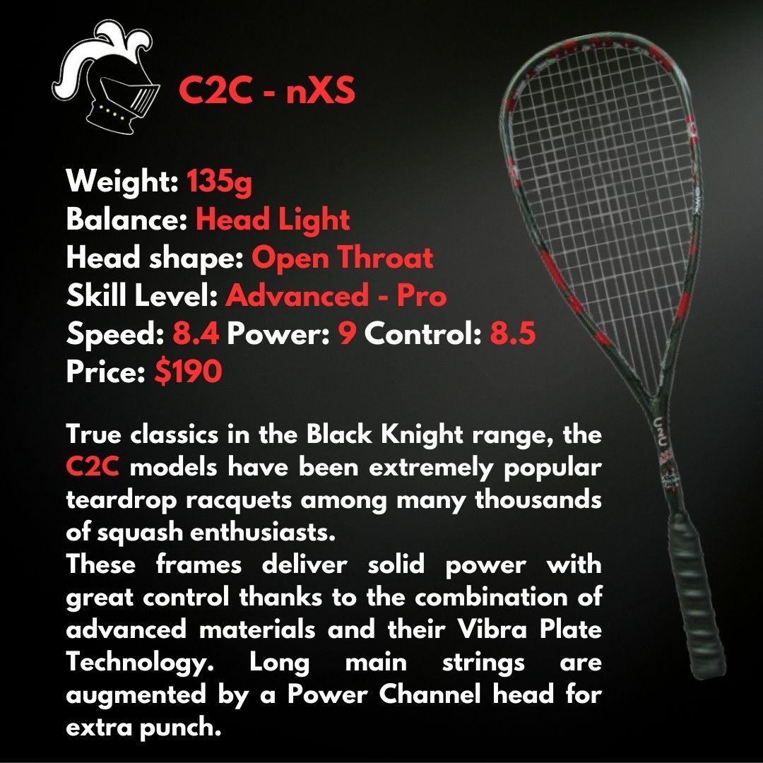 Black Knight C2C nXS Squash Racquet