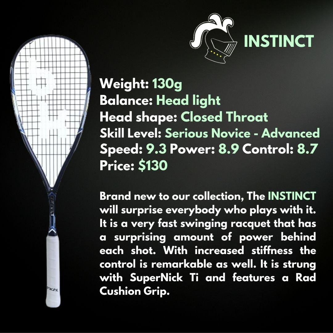 Black Knight Instinct Squash Racquet